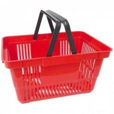 Корзина покупательская пластиковая 20 литра