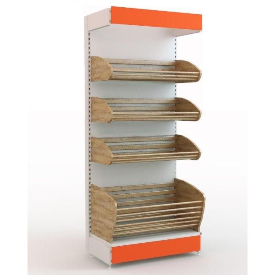Широкий ассортимент торговых стеллажей для магазинов по доступной цене в Алуште предлагает компания «Техностоун»