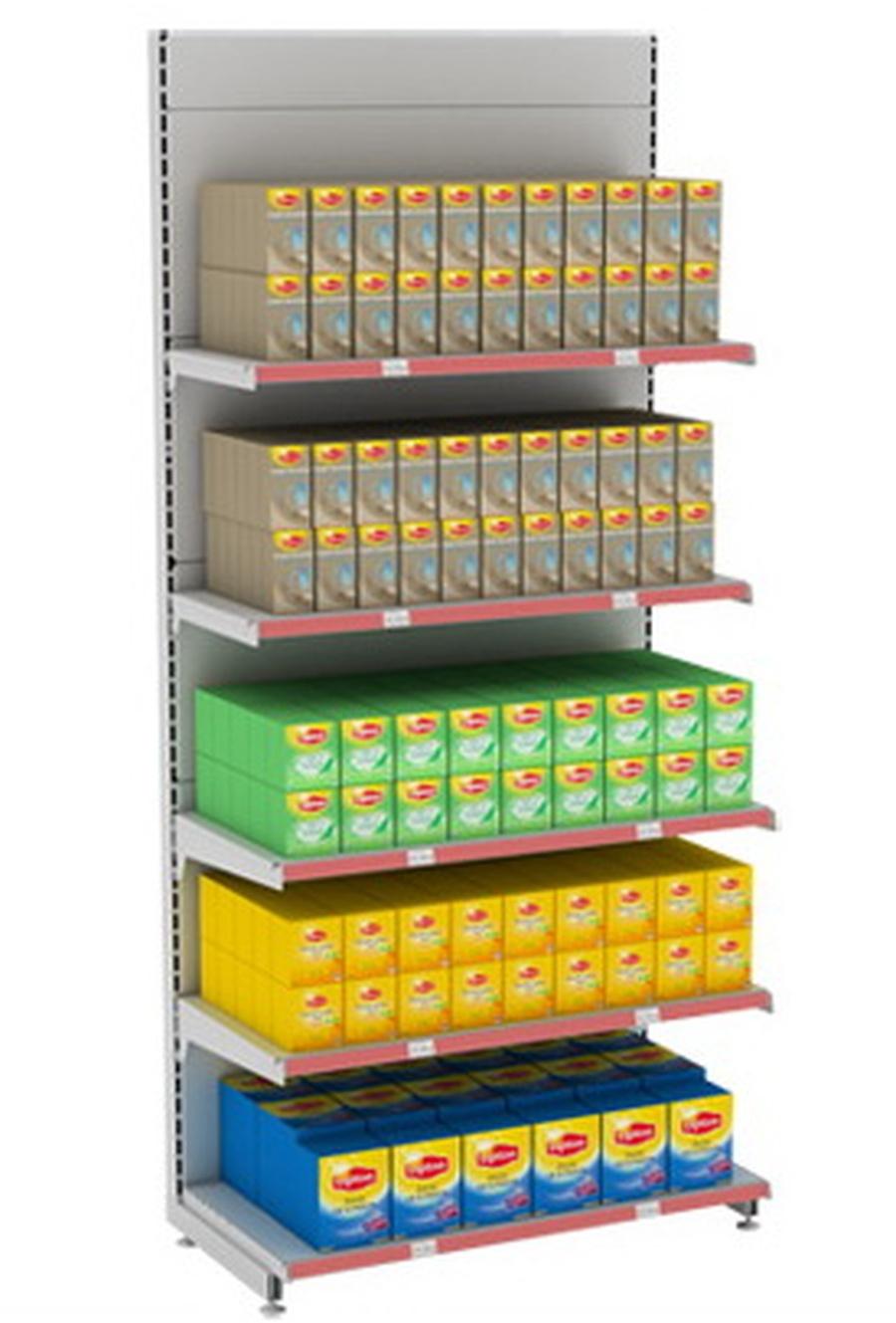 Широкий ассортимент торговых стеллажей для магазинов по доступной цене в Джанкое предлагает компания «Техностоун»
