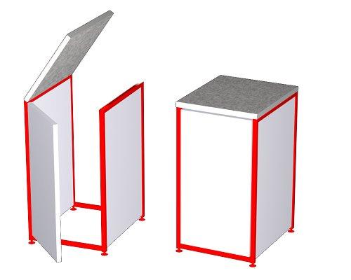 Купить качественные торговые прилавки для магазинов в Феодосии предлагает компания «Техностоун»
