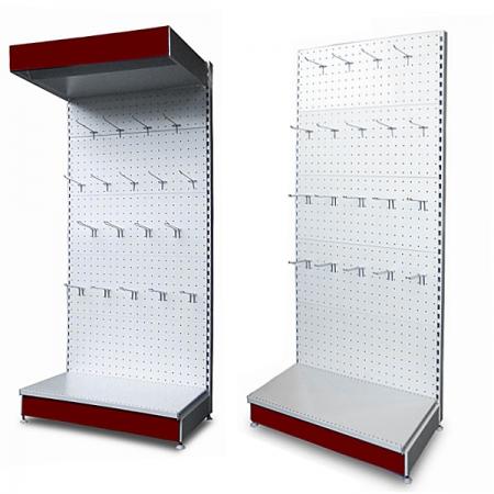 Широкий ассортимент торговых стеллажей для магазинов по доступной цене в Керчи предлагает компания «Техностоун»