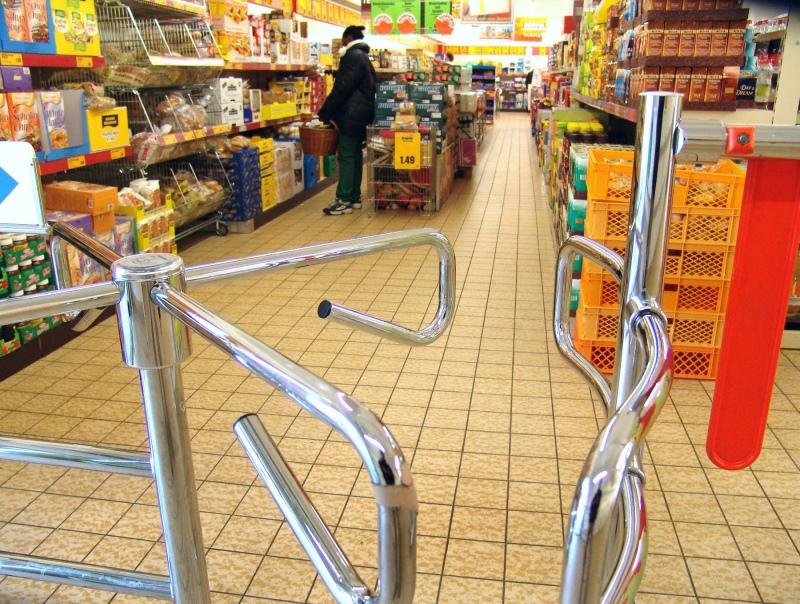 Широкий выбор турникетов для магазинов по выгодным ценам в Керчи предлагает компания «Техностоун»