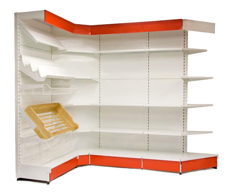 Широкий ассортимент торговых стеллажей для магазинов по доступной цене в Севастополе предлагает компания «Техностоун»