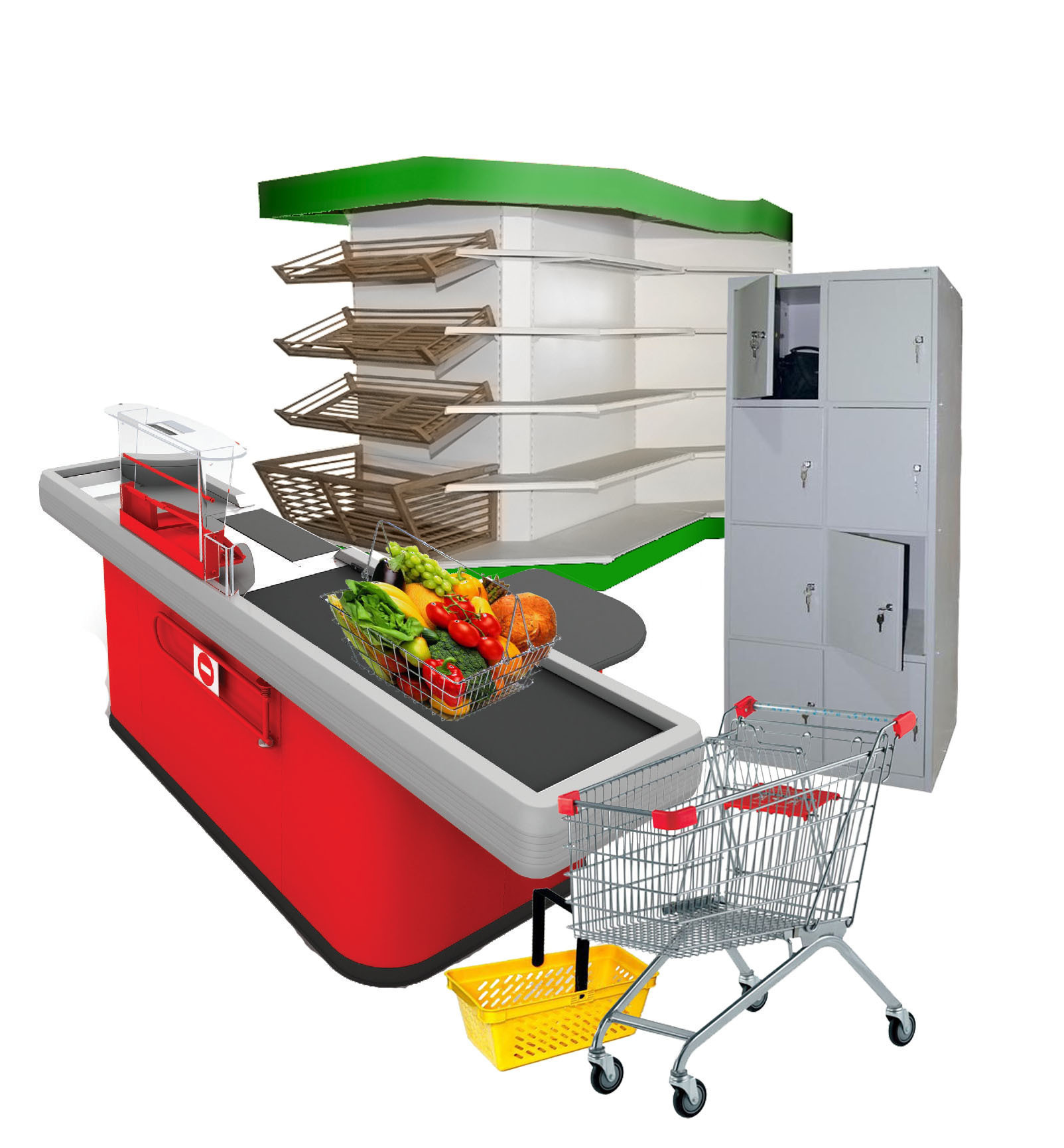Купить торговое оборудование для магазинов по доступной цене в Симферополе предлагает компания «Техностоун»